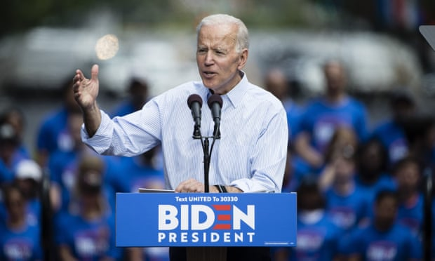 Can Biden just bide his time to the nomination?